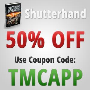 Shutterhand Generator code