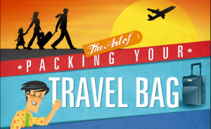 Tips for packing travel bag