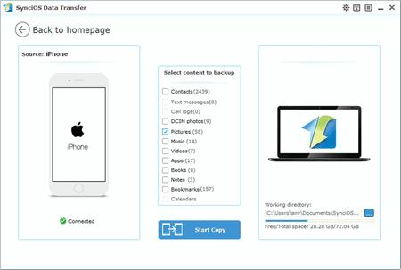 one click data backup tool