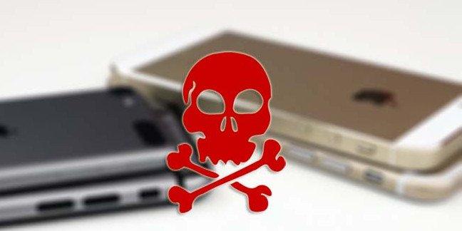 iphone security problem